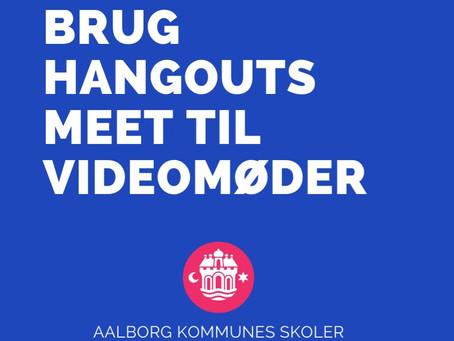 Brug Hangouts Meet til fjernundervisning