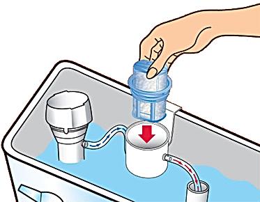 NeverScrub Refill Install