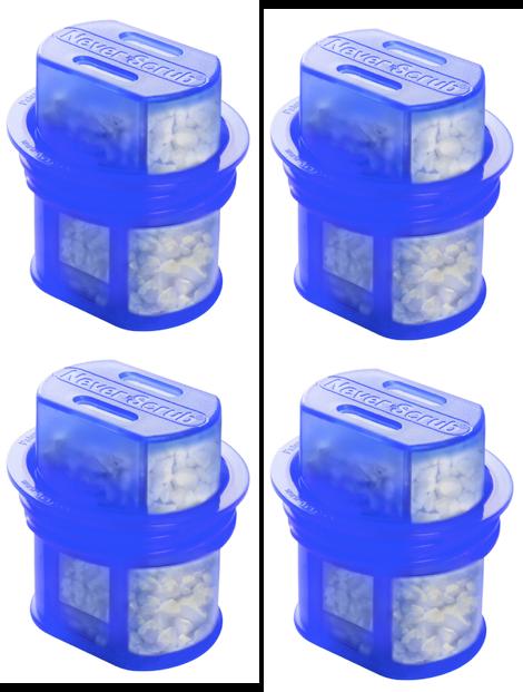 NeverScrub Refills - 4 Pack