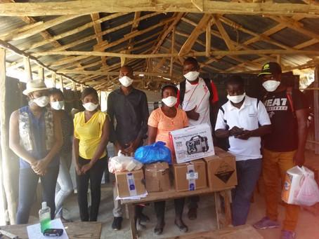 LIDE-N se mobilise contre la covid-19 en Haïti