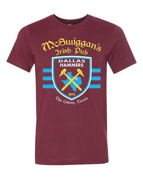 McSwiggans Tee - Maroon