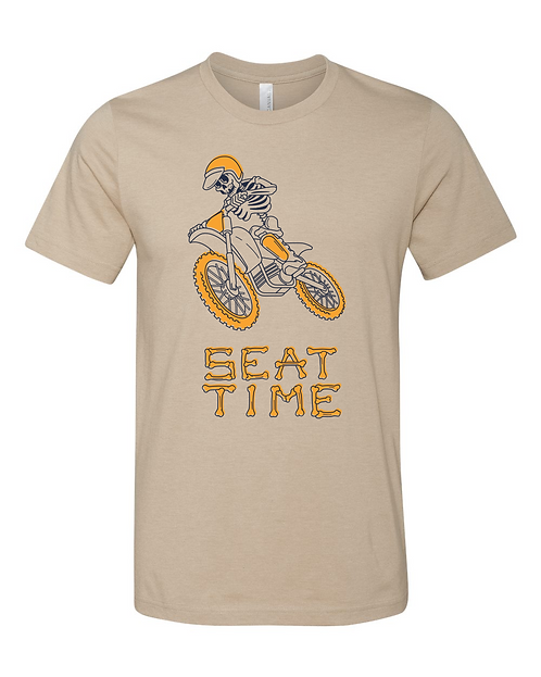 Seat Time Vintage Skeleton Tee