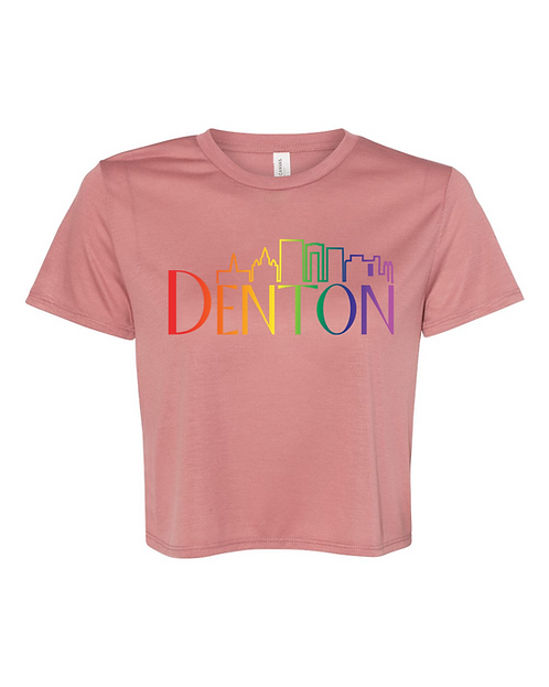 Denton Skyline Crop Top