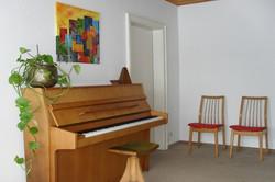 Musikalischer Eingangsbereich