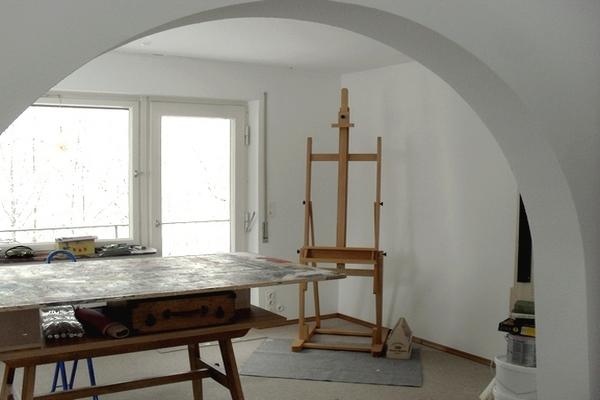 Atelier - hinterer Teil