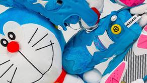 Reebok e atmos se juntam para prestar homenagem ao anime japonês Doraemon.