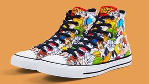 Looney Tunes e Chuck Taylor All Star em uma coleção bem animada!