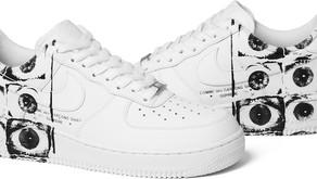 Supreme X Comme des Garçons x Nike Air Force 1 será lançado esta semana.