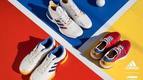 Pharrell Williams lança modelos especiais para prática de tênis.