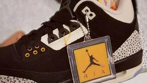 Nike Air Jordan 3 atmos: Divulgadas primeiras imagens!