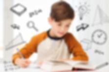 education, childhood, people, homework a