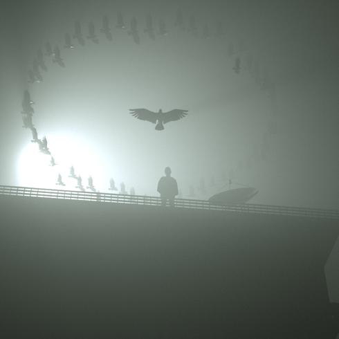 Using C4D Octane render Bird Model from C4D library