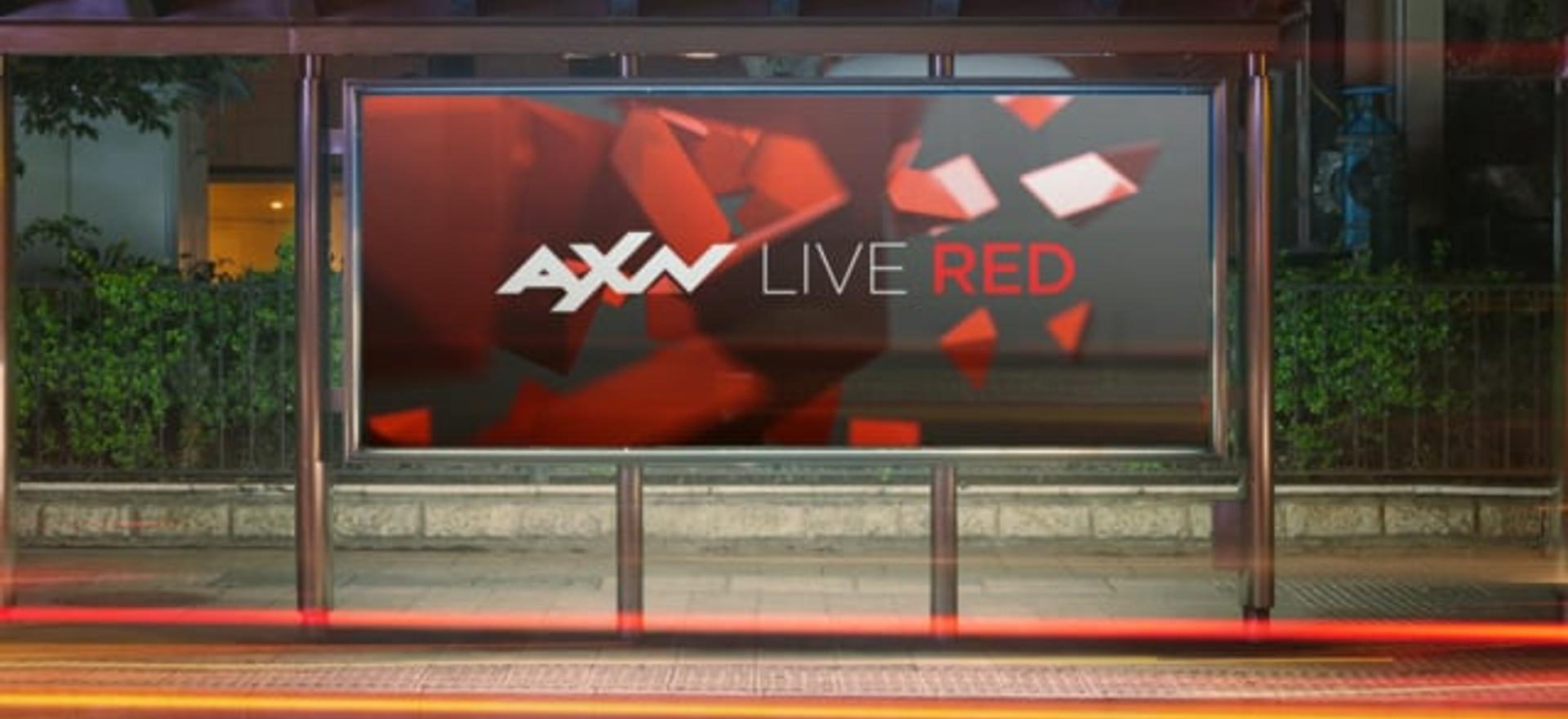 AXN Rebrand Logo Animation Design
