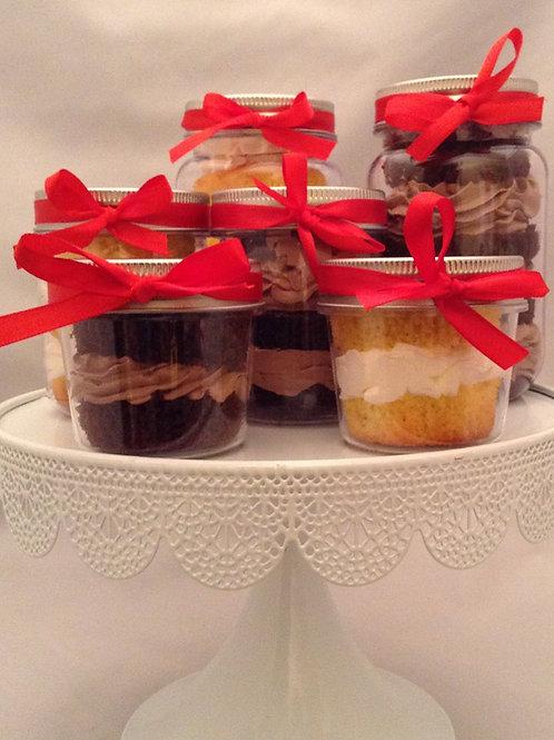 4 Pack Variety Cake Jars
