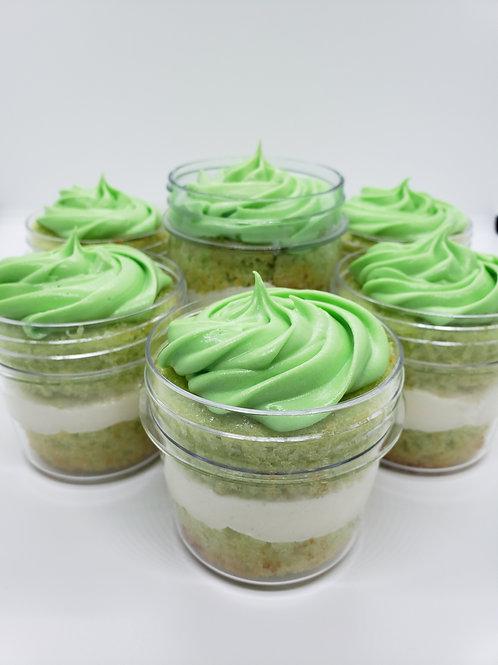 Key Lime Cake Jars