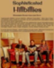 Sophisticated Hillbillies Bandinfo mit F