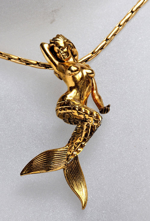 Pendentif Bronze Doré