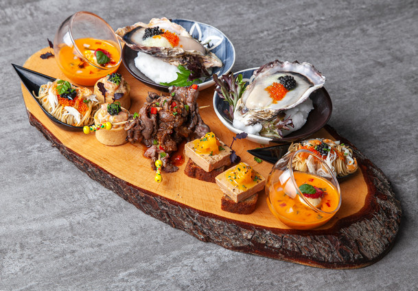 Duos Of Canapes Platter