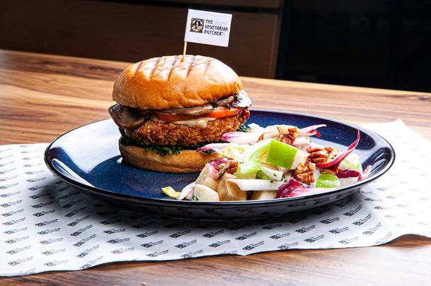 Classic 'No Chicken' Kiev Burger