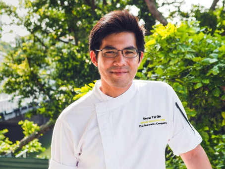 """BlackBookCares Presents – """"One To Watch"""" Group Executive Chef, Chef Seow Tzi Qin, Brewerkz"""