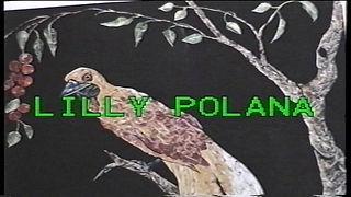 Lilly Polana  Artista elvetica madre della tecnica di collage con francobolli