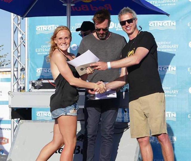 2nd place- Open Womens Lancelin Ocean Wave Classic