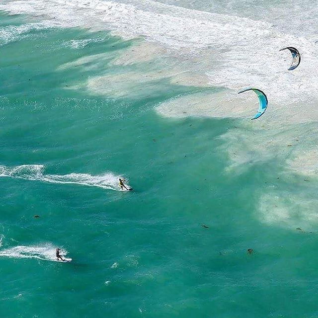 Aerial view from my heat in the 2017 Lancelin Ocean Classic.