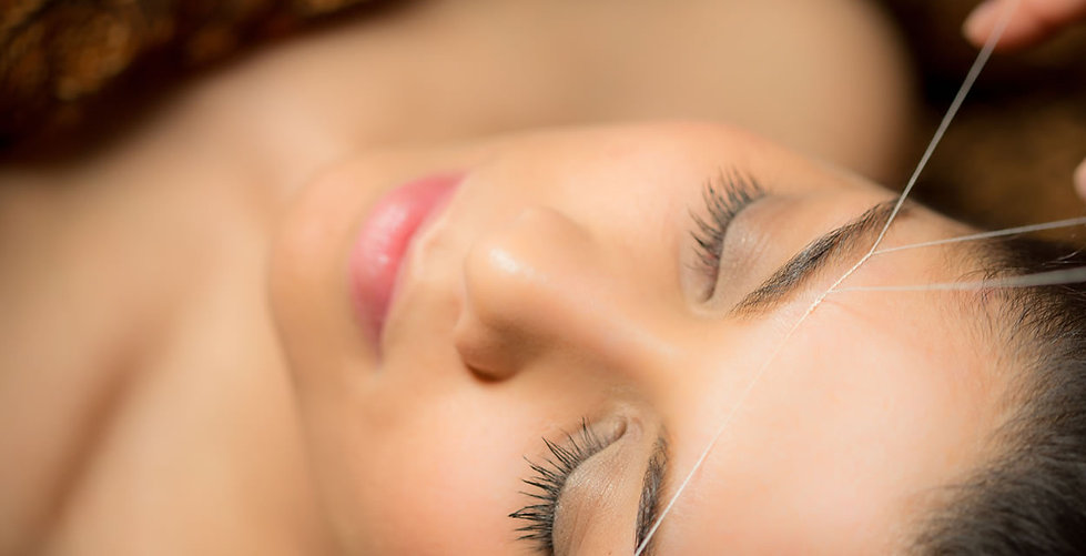 facial & brow threading