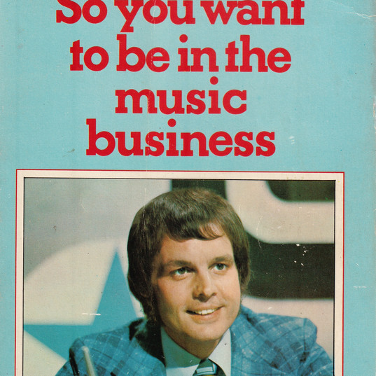 So You Want To Be In The Music Business