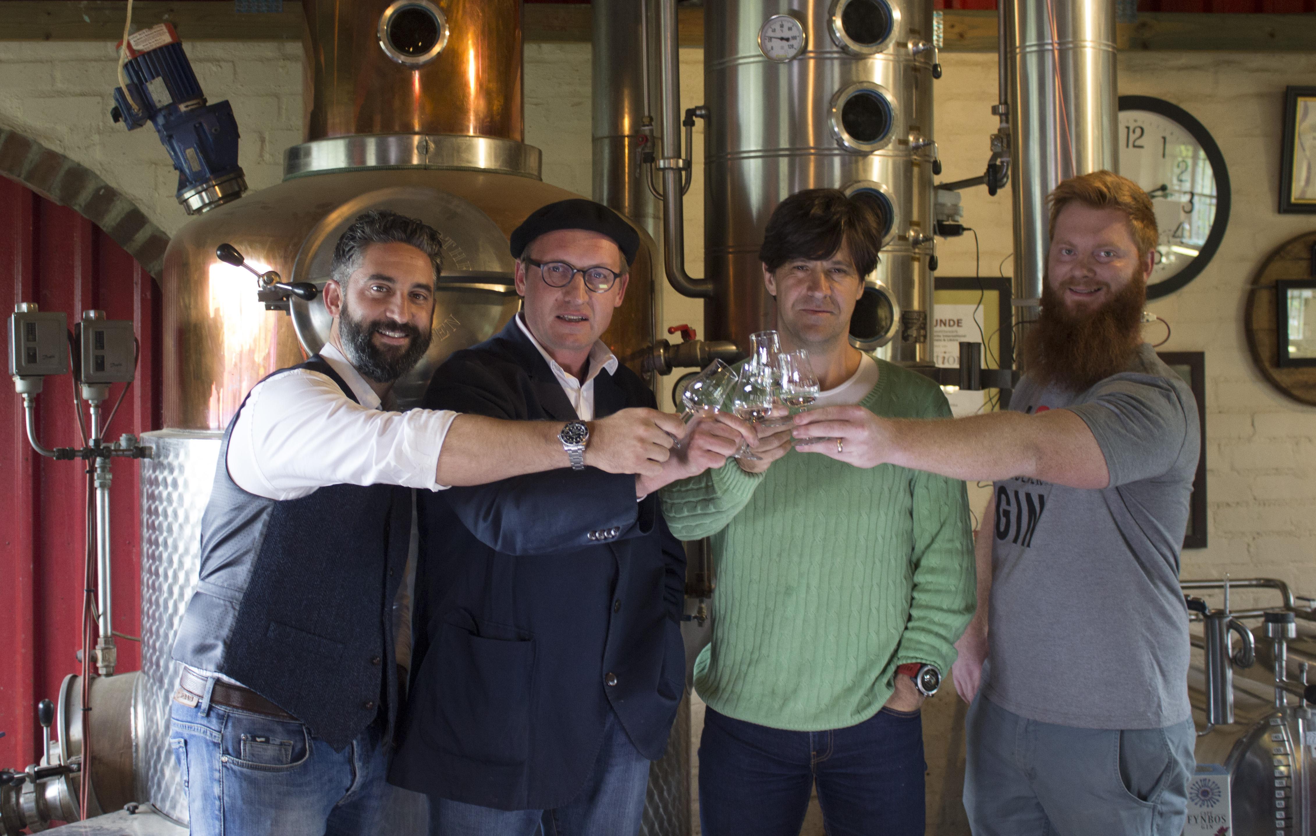 Cape Fynbos Gin Founders