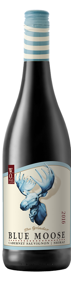 The Blue Moose wine