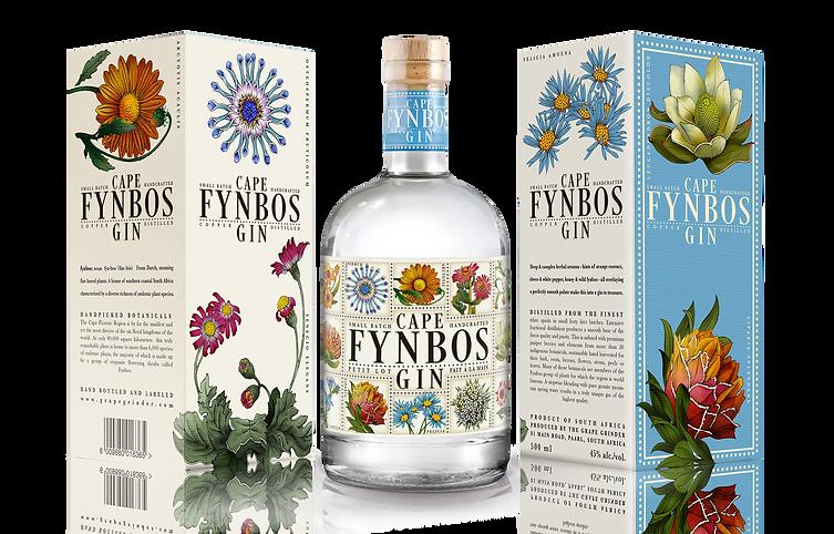 Cape Fynbos Gin Packaging