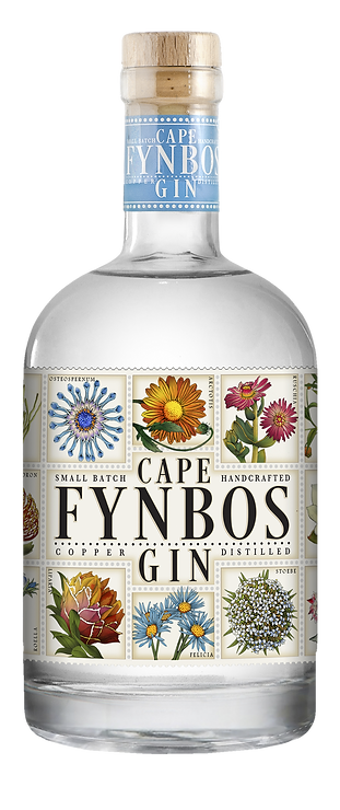 CAPE FYNBOS GIN, HAND DISTILLED IN PROUD PARTNERSHIP WITH CHRISTIAN WILDERER