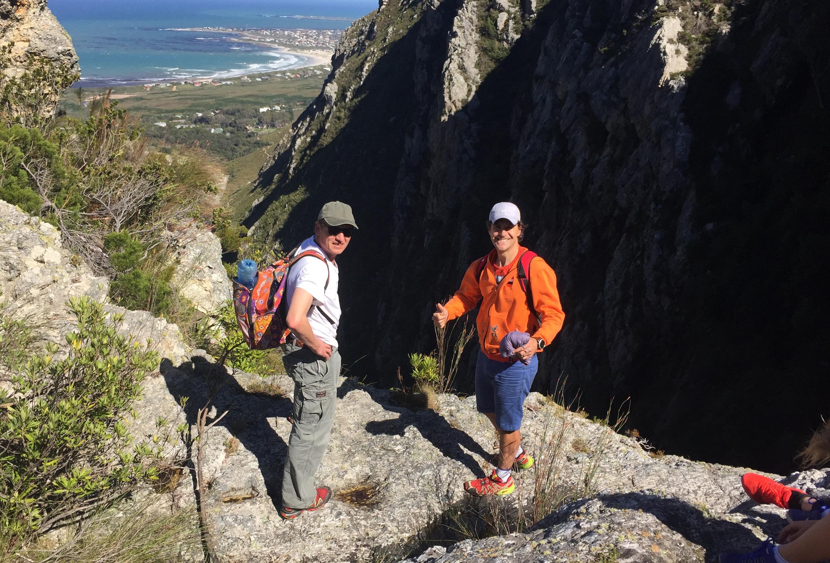 Ollie and Johan Hiking