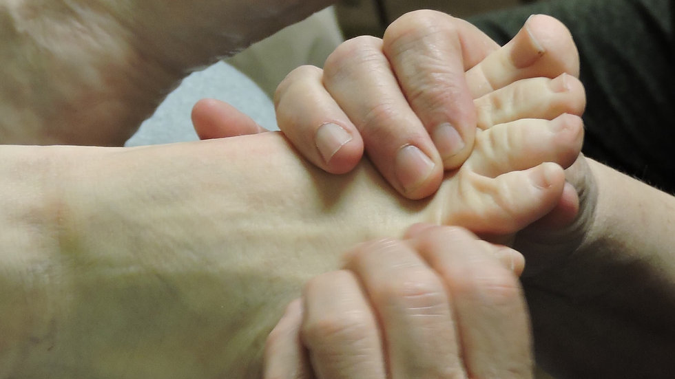 DEPOSIT Foot Reflexology Professional Certification
