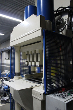 The machine for brick PAK-600