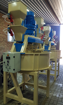 The mortar mixing complex RSK-500