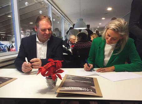 Kontrakt underskrevet om nyt svømmehalsprojekt