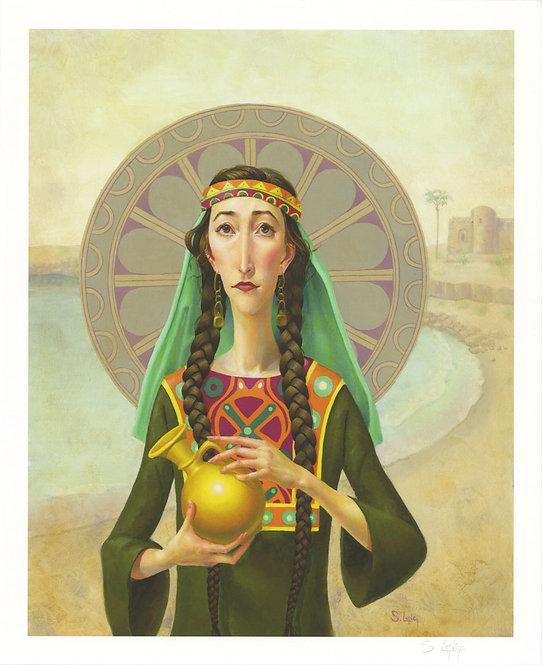 """""""The Widow of Zarephath"""" Giclée Print"""