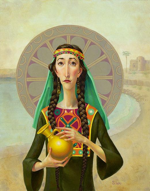 """The Widow of Zarephath"" Original Oil Painting"