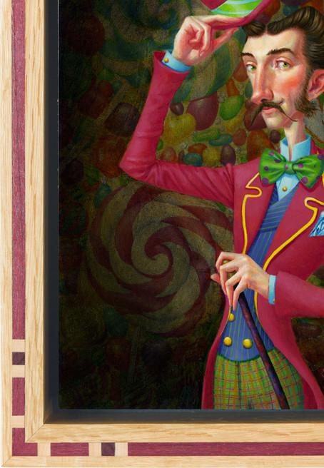 Portrait of a Candy Man Detail