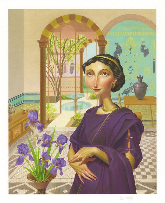 """Seller of Purple"" Giclée Print"