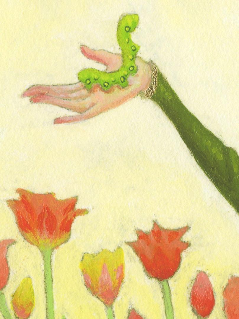 """The Caterpillar"" Print Detail"