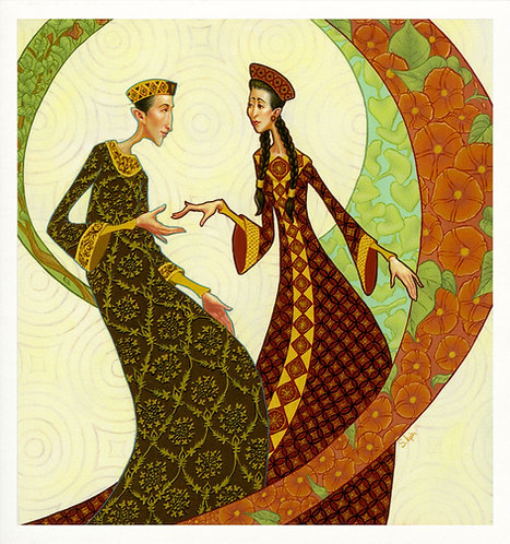 """""""By Works Was Faith Made Perfect"""" Giclée Print"""