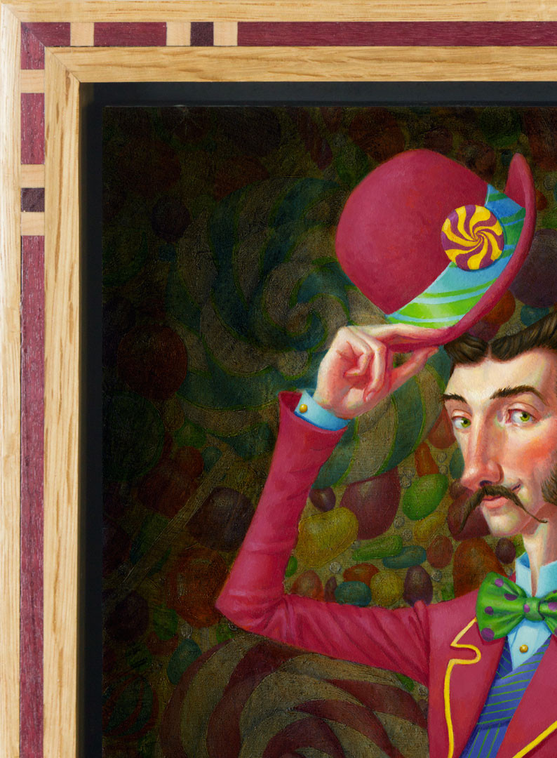Portrait of a Candy Man Detail