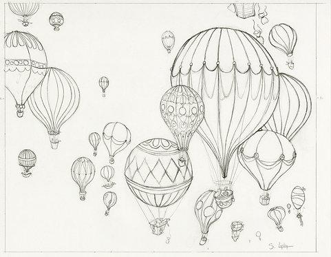 """""""Zion Rising"""" Original Drawing by Samantha Long"""