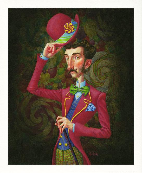 """The Candy Man"" Giclée Print"