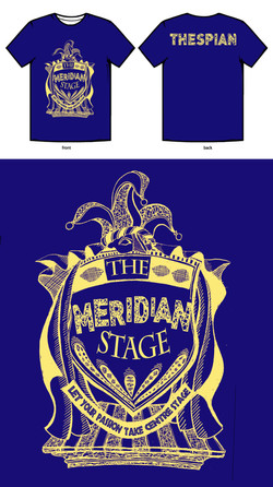 The Meridian Stage t-shirt