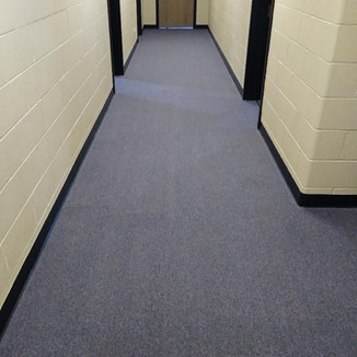 Commercial carpet clean
