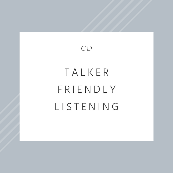 Talker Friendly Listening